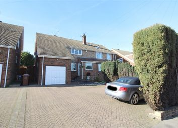 Thumbnail 4 bed semi-detached house for sale in Lonsdale Drive, Rainham, Kent.