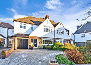 Thumbnail 4 bedroom semi-detached house for sale in Wansunt Road, Bexley, Kent