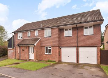 Thumbnail 5 bedroom detached house for sale in Lincoln Close, Kempshott Rise, Basingstoke