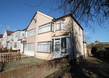 Thumbnail 3 bed semi-detached house to rent in Faircross Avenue, Collier Row, Romford