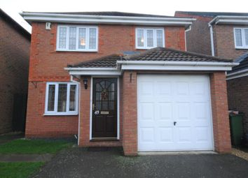 Thumbnail 3 bed detached house to rent in Burrows Close, Narborough