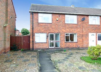 Thumbnail 3 bedroom end terrace house for sale in Longlands Close, Beeston, Nottingham