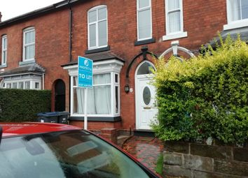 Thumbnail 3 bed terraced house to rent in Addison Road, Kings Heath, 3 Bedroom Terrace