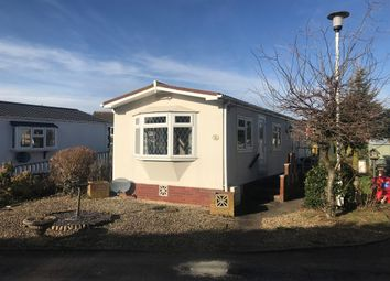 Thumbnail 1 bed mobile/park home for sale in Little Marsh Park, Cannock Road, Penkridge