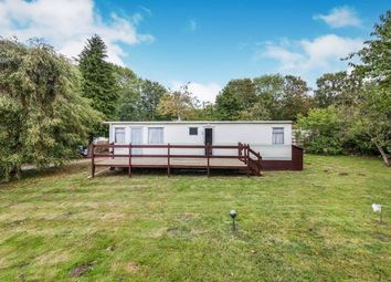 Thumbnail 2 bed mobile/park home for sale in Holton Hall Park, Halesworth, Suffolk