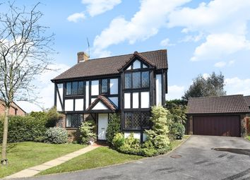 Thumbnail 4 bed detached house for sale in Woodward Close, Winnersh