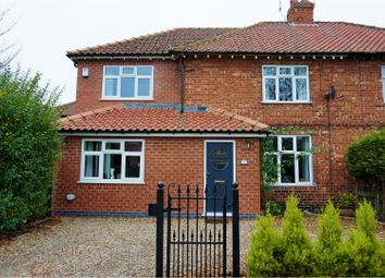 Thumbnail 4 bed semi-detached house for sale in Maple Avenue, Bishopthorpe, York