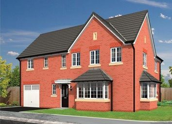 Thumbnail 4 bed detached house for sale in Lawton Green, Alsager