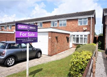 Thumbnail 3 bed end terrace house for sale in Yarborough Drive, Grimsby