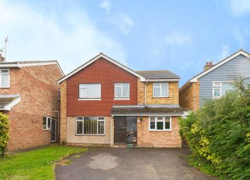 Thumbnail 5 bed detached house for sale in Meadow Close, Grove, Wantage