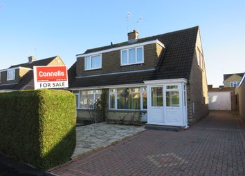 Thumbnail 2 bed semi-detached house for sale in Shapwick Close, Swindon