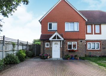 Thumbnail 3 bed semi-detached house for sale in Garner Drive, East Malling, West Malling