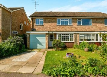 Thumbnail 3 bed semi-detached house for sale in Webbs Close, Bromham, Bedford, Bedfordshire