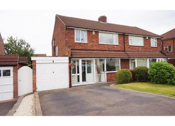 Thumbnail 3 bed semi-detached house for sale in Cherrywood Road, Sutton Coldfield