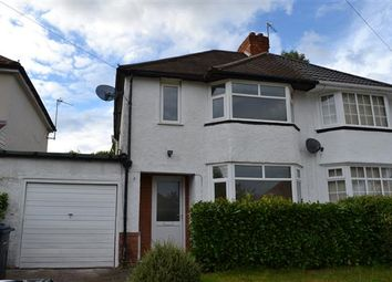 Thumbnail 3 bed semi-detached house to rent in Longmoor Road, Sutton Coldfield, Birmingham