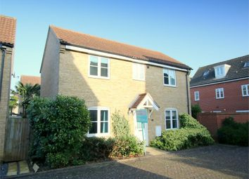 Thumbnail 3 bedroom detached house for sale in Flawn Way, Eynesbury, St. Neots