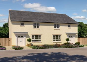 "Thumbnail 3 bed semi-detached house for sale in ""Wemyss"" at Kildean Road, Stirling"