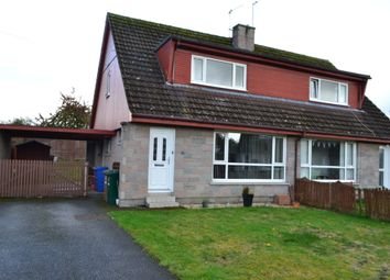 Thumbnail Semi-detached house for sale in 15 Thornhill Crescent, Forres