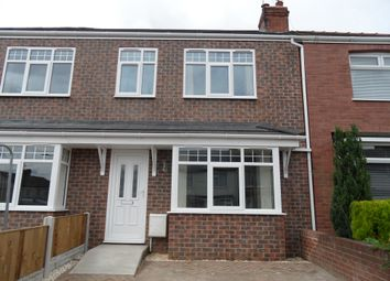 Thumbnail 3 bed terraced house to rent in Stafford Road, Woodlands Doncaster