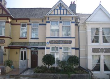 Thumbnail 3 bed terraced house to rent in Endsleigh Park Road, Plymouth