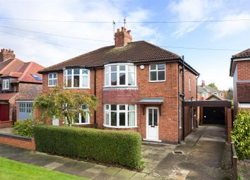 Thumbnail 3 bedroom semi-detached house for sale in Oakland Avenue, York