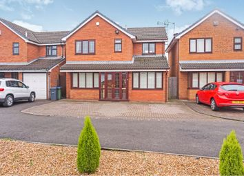 Thumbnail 3 bedroom detached house for sale in Angelica Close, Walsall