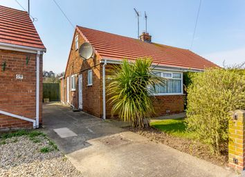 Thumbnail 2 bed semi-detached bungalow for sale in Bempton Oval, Bridlington, East Riding Of Yorkshire