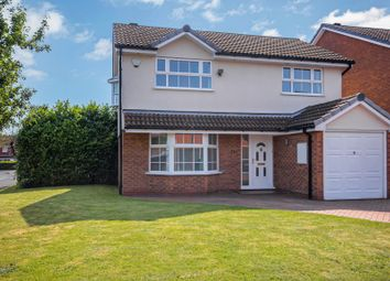 Thumbnail 4 bed detached house for sale in Bufferys Close, Hillfield, Solihull