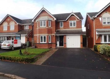 Thumbnail 4 bed detached house for sale in Saffron Close, Lowton, Warrington