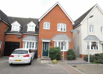 Thumbnail 5 bed link-detached house for sale in Dotterel Way, Stowmarket