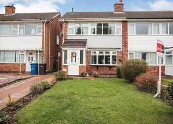 Thumbnail 3 bed semi-detached house for sale in Freville Close, The Leys, Tamworth, Staffordshire