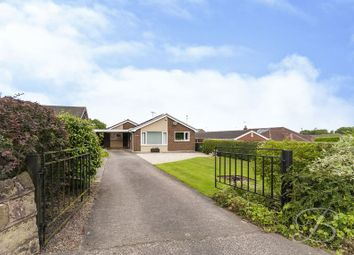 Thumbnail 3 bed detached bungalow for sale in Chesterfield Road, Tibshelf, Alfreton