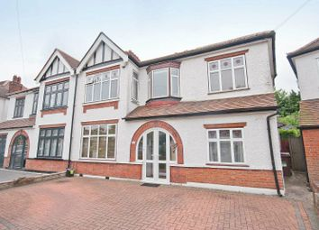 Thumbnail 5 bed semi-detached house for sale in Parkfield Gardens, North Harrow, Middlesex