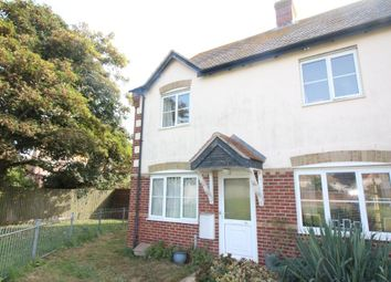 Thumbnail 2 bedroom end terrace house for sale in Douglas Road, Weymouth, Dorset