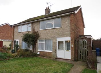 Thumbnail 3 bed semi-detached house for sale in Garden Close, Bungay