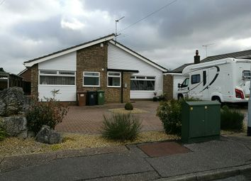 Thumbnail 3 bed detached bungalow for sale in Stonehill Road, Caister-On-Sea, Great Yarmouth