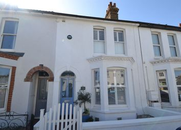 Thumbnail 4 bed terraced house for sale in Nelson Road, Whitstable
