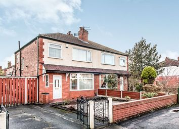 Thumbnail 3 bed semi-detached house for sale in Mauldeth Road, Burnage, Manchester