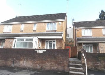 Thumbnail 3 bed semi-detached house to rent in East Street, Pontypridd