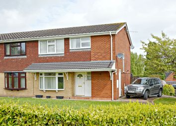 Thumbnail 3 bed semi-detached house for sale in Ashbourne Drive, Silverdale, Newcastle-Under-Lyme