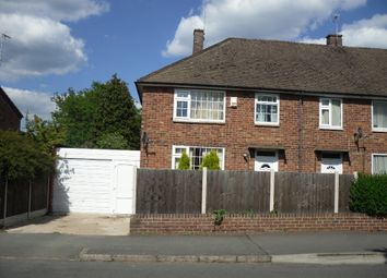 Thumbnail 4 bed semi-detached house for sale in Ambassador Road, Leicester