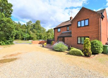 Thumbnail 4 bed detached house for sale in Norwich Road, Roughton, Norwich
