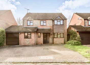 Thumbnail 4 bed detached house for sale in Burrows Close, Penn