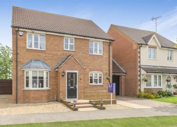 Thumbnail 4 bed link-detached house for sale in Haywain Drive, Deeping St. Nicholas, Spalding