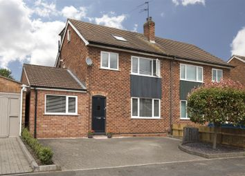 Thumbnail 4 bed semi-detached house for sale in North Villiers Street, Leamington Spa