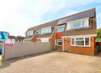 Thumbnail 4 bed semi-detached house for sale in Devonshire Way, Fareham