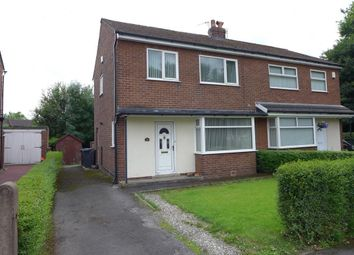 Thumbnail 3 bed semi-detached house for sale in The Crescent, Lostock Hall, Preston