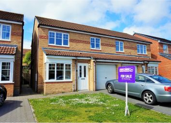 Thumbnail 3 bed semi-detached house for sale in Cloverhill Court, Stanley