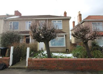 Thumbnail 3 bedroom end terrace house to rent in Speedwell Road, Kingswood, Bristol