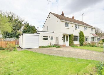 Thumbnail 3 bed semi-detached house for sale in Copthall Close, Great Hallingbury, Bishop's Stortford, Herts